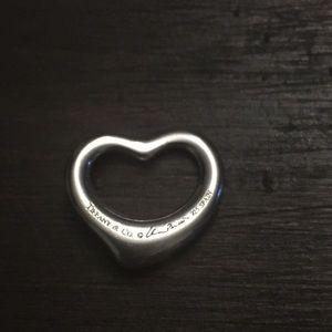 RESERVED Tiffany & Co. Elsa Peretti heart charm